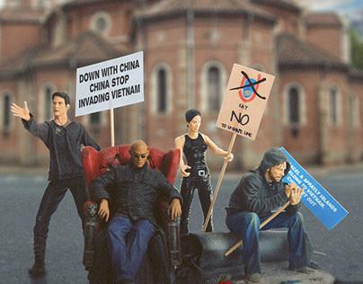 Toys World on strike