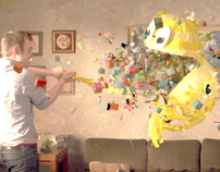 RTE Channel Ident Piñata: