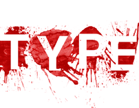 Typography - Blood type