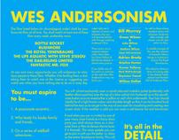 Wes Andersonism Manifesto