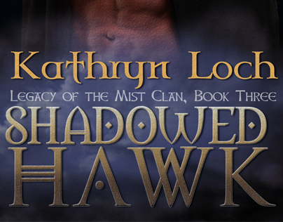 Shadowed Hawk Book Cover by Kathryn Loch