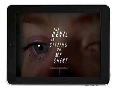 Fear of Sleep, iPad Publication