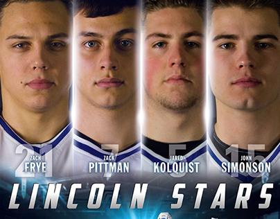 Lincoln Stars - 2013-14 Captains Poster