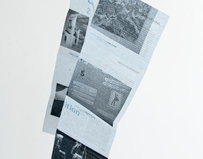 2014 calendar poster for Limagier gallery