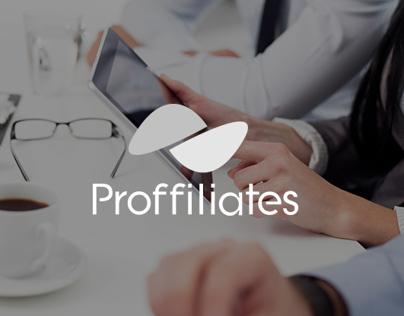 Proffiliates Website Redesign