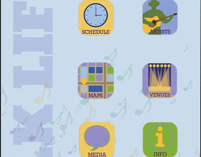 App Icons for Folk Life Festival