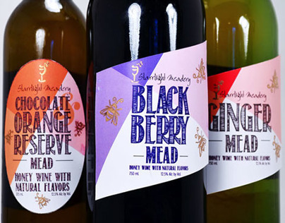 Starrlight Mead Labels