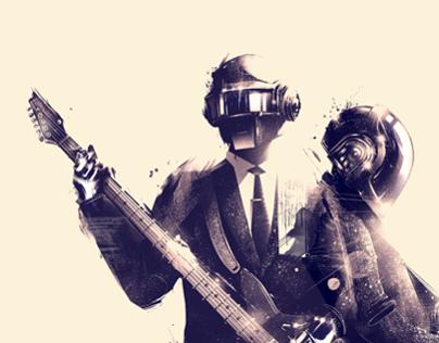 Daft Punk 2 x Gauntlet Gallery