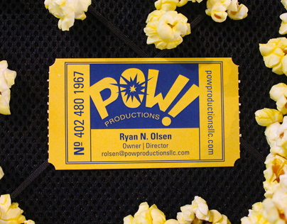 POW! Productions - Branding