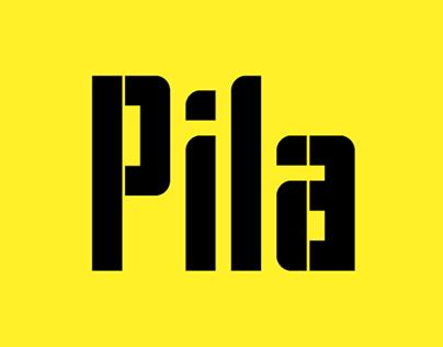 Pila Typeface
