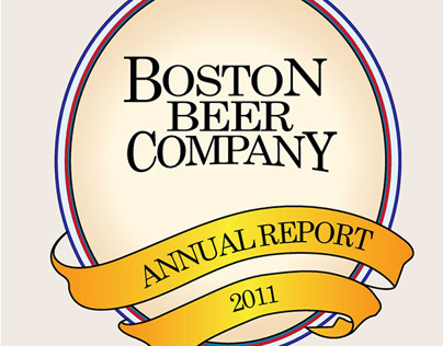 Boston Beer Company Annual Report - Print Design