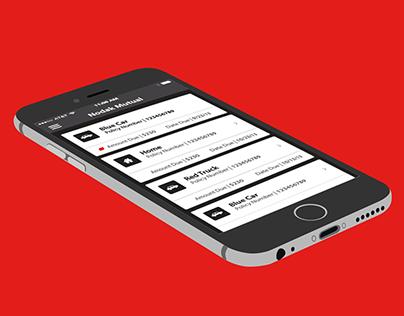 Insurance iPhone App