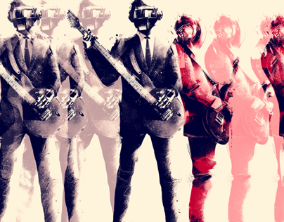 Daft Punk 6 x Gauntlet Gallery