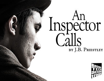 Theater Poster for An Inspector Calls