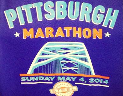 Pittsburgh Marathon Shirt Design 2014