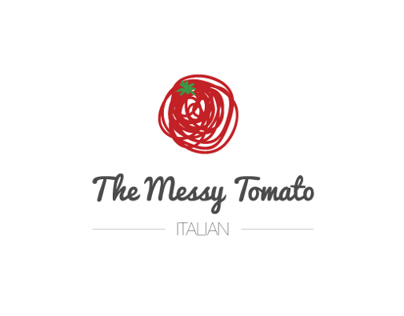 The Messy Tomato // Branding