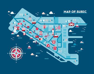 Ad Summit 2014 Subic Map