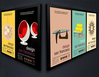 American Society of Interior Designer collateral design