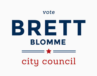 Brett Blomme for City Council