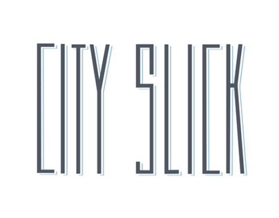 City Slick Typeface