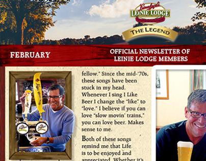 Leinenkugels - Leinie Legend Digital Newsletter