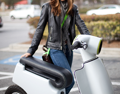Electric Scooters for SCAD transportation Classs