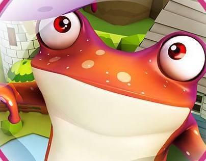 Jugglin Frog