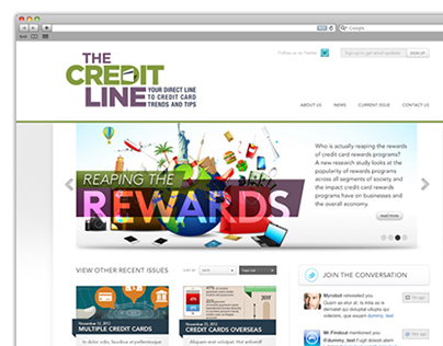 The Credit Line