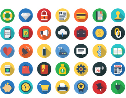 200+ Flat Icons Set | FlatIcon