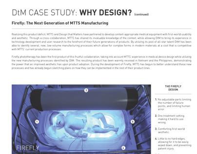 DtM Case Study: WHY DESIGN?
