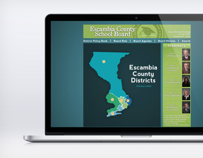 Escambia School Board Website