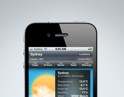 Weatherzone Mobile App