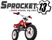 Sprocket 13 Pit Bike