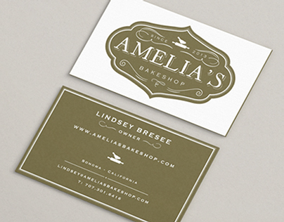 Amelia's bakeshop