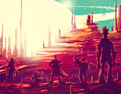 Guardians of the Galaxy x Poster Posse