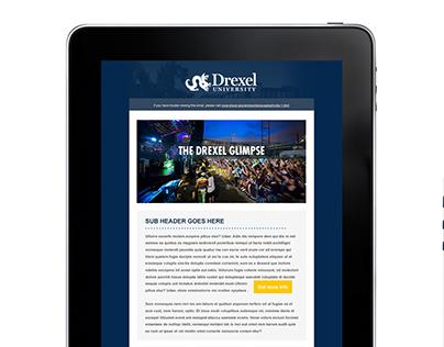 Drexel University, Responsive Email Design