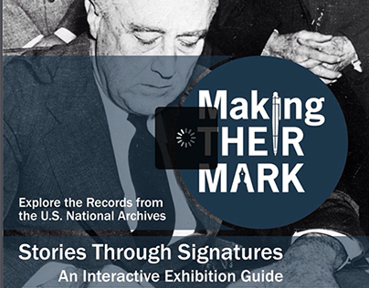 Making Their Mark Exhibition eBook, National Archives