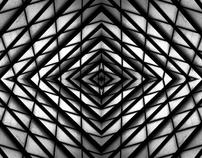 Symmetries at Atocha train station - Madrid