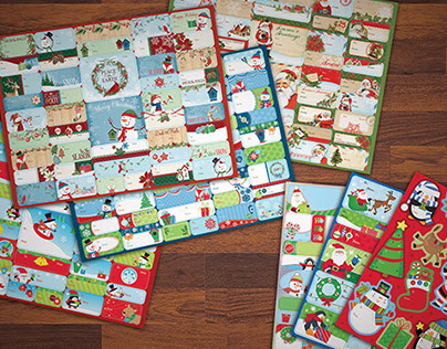 Dollar Tree Christmas Gift Tags 2014