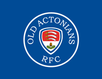 Old Actonians Rugby Club - Branding