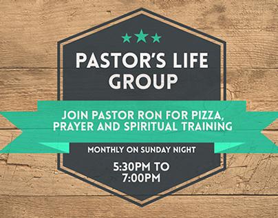 Pastors Life Group: graphic