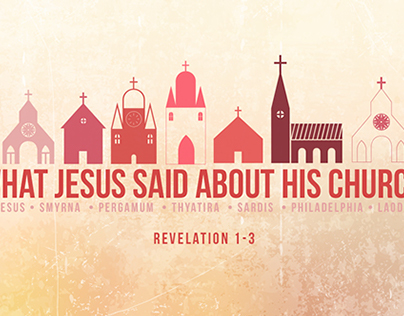 What Jesus Said About His Church: Series Artwork