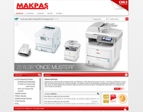 Makpaş Internet Site Design and Development