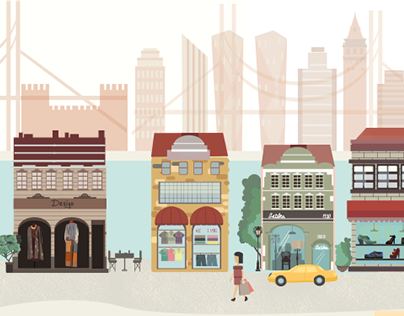 Illustration for The Guide Istanbul Magazine