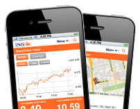 ING Mobile website