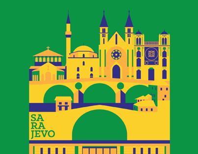 Sarajevo 100, International Poster Action