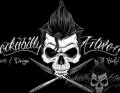 Rockabilly Artworks Logo Prints