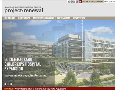 Stanford University Medical Center | project : renewal