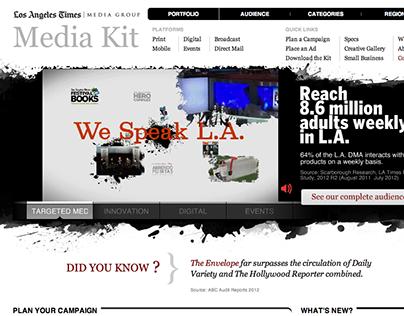 Los Angeles Times Media Group Media Kit
