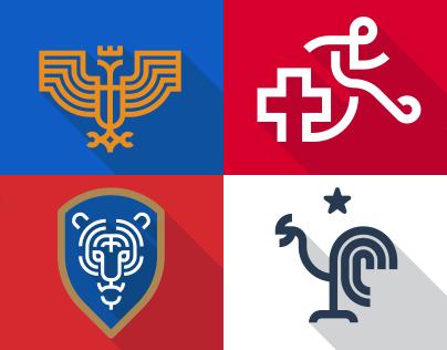 World Cup 2014 Logos